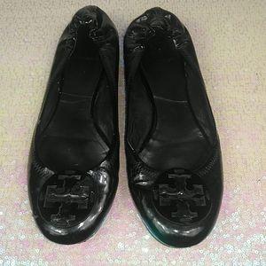 Tori Burch women's flats shoes size 9.5